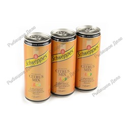 "Schweppes Citrus mix 0,33 ""EU""  24шт (1 шт - 42,5)"