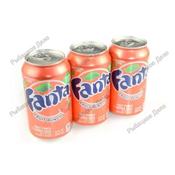 "Fanta Fruit Punch ""USA"" 12 шт. (1шт - 59,40)"