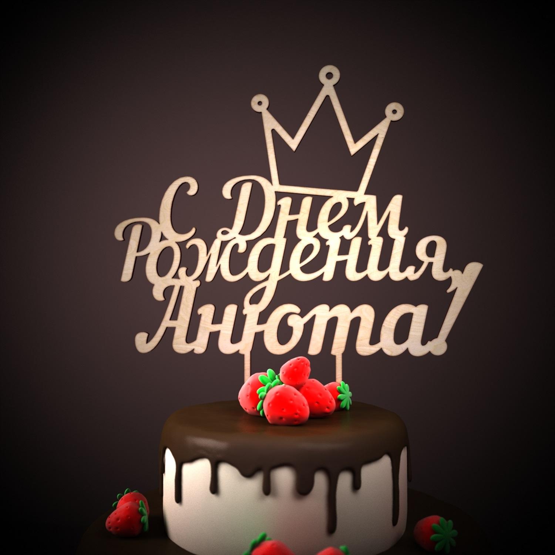 Поздравление с днем рожденья для ани